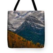 Glacier National Park Big Bend Tote Bag