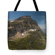 Glacier National Park Panorama Tote Bag