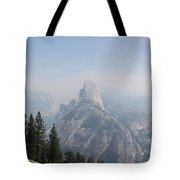 Glacier Point Panorama View Tote Bag