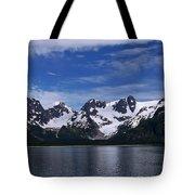 Glacier View Tote Bag