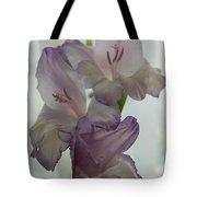 Glad Gladiola Tote Bag