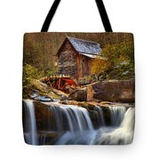 Glade Creek Cascades Tote Bag
