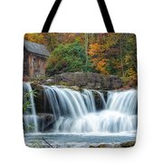 Glade Creek Grist Mill And Waterfalls Tote Bag