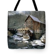 Glade Creek Grist Mill In West Virginia Tote Bag