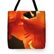 Gladiola Close Up 3 Tote Bag