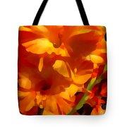 Gladiola Coral Tote Bag