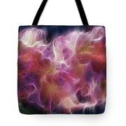 Gladiola Nebula Tote Bag