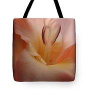 Gladiola Stamen Tote Bag