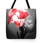Gladiola With Heart Tote Bag