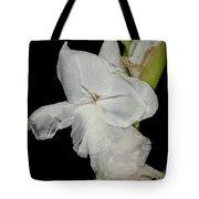 Gladiolus Past Time Tote Bag