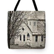 Glady Presbyterian Sepia Tote Bag