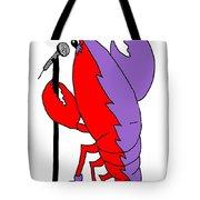 Glam Rock Lobster Or Harleguin Lobster Tote Bag
