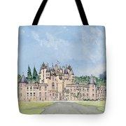 Glamis Castle Tayside  Tote Bag