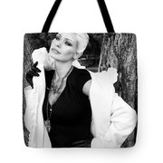 Glamour Bw Palm Springs Tote Bag by William Dey
