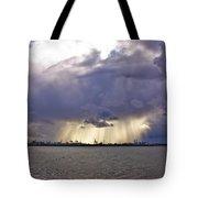 Glare Over Clontarf Tote Bag