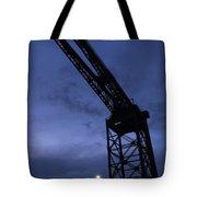 Glasgow Dock Crane 02 Tote Bag