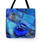 Glass Abstract 238 Tote Bag