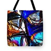 Glass Abstract 4 Tote Bag