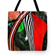 Glass Abstract 493 Tote Bag