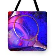Glass Abstract 594 Tote Bag