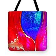 Glass Abstract 606 Tote Bag