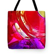 Glass Abstract 607 Tote Bag