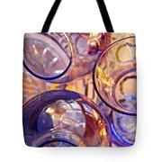 Glass Abstract 620 Tote Bag