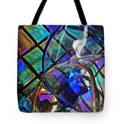 Glass Abstract 690 Tote Bag
