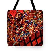 Glass And Beads Tote Bag