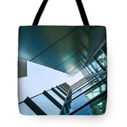 Glass And Metal - Walt Disney Concert Hall In Downtown Los Angeles Tote Bag