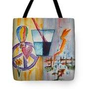 Glass Attitude Tote Bag