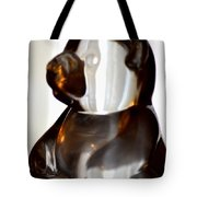Glass Bear Tote Bag