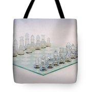 Glass Chess Tote Bag