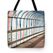 Glass Covered Walkway Tote Bag