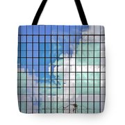 Glass Facade Houston Tx Tote Bag by Christine Till
