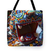 Glass Jaguar Tote Bag