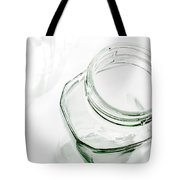 Glass Jars - High Key Tote Bag