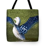 Glass Loon Tote Bag