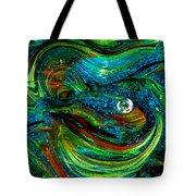Glass Macro Abstract 13e7a Tote Bag