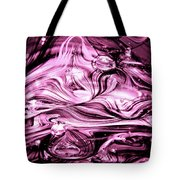 Glass Macro Abstract Rbwce1 Tote Bag by David Patterson
