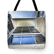 Glass Reflections Tote Bag