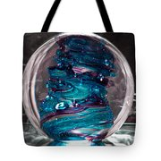 Glass Sculpture Blues And Purple Rb4 Tote Bag