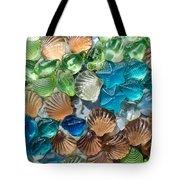 Glass Seashell Tote Bag