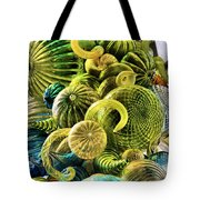 Glass Shapes Tote Bag