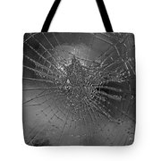 Glass Spider Tote Bag