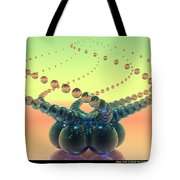 Glass Twirl  Tote Bag