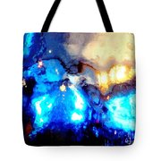 Glass Vase Abstract Tote Bag