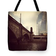 Glass View Tote Bag by Katie Cupcakes