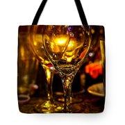 Glasses Aglow Tote Bag