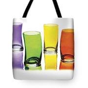 Glasses-rainbow Theme Tote Bag
